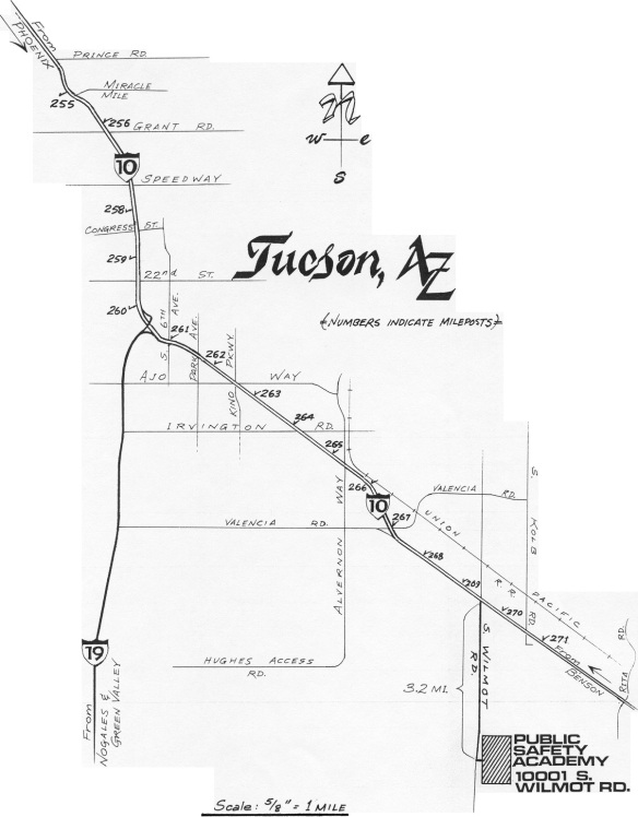 PSA map